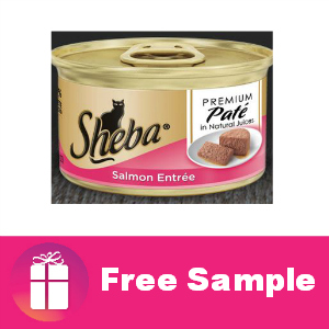 Freebie Sheba Cat Food