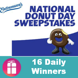 Sweeps Entenmann's National Donut Day