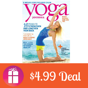 Deal Yoga Journal for $4.99 per Year
