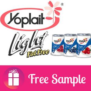Freebie Yoplait Light