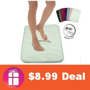 $8.99 Memory Foam Bath Mat (was $39.99)