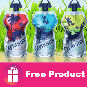 Freebie Capri Sun Big Pouch