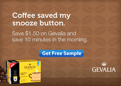 Freebie Gevalia Single-Serve Cups