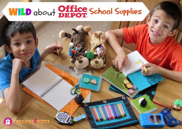 Wild about Office Depot School Supplies