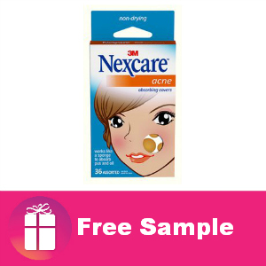 Freebie Nexcare Acne Absorbing Covers