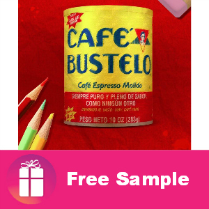Freebie Cafe Bustelo Coffee
