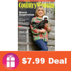 Deal $7.99 for Country Woman Magazine