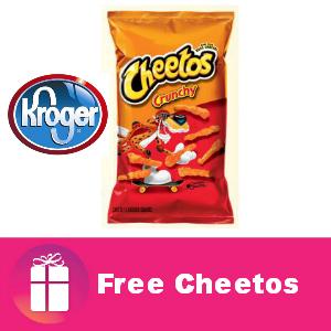 Freebie Cheetos at Kroger