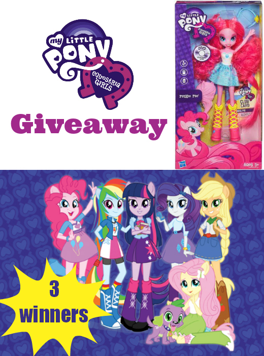 My Little Pony Equestria Girls Giveaway