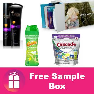 Freebie P&G Sample Box