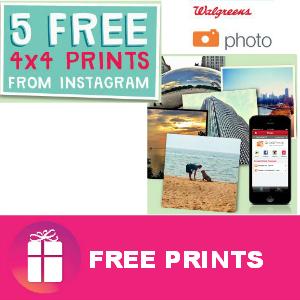 5 Free 4x4 Prints at Walgreens