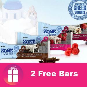 Freebie ZonePerfect Greek Yogurt Bar (two of them)