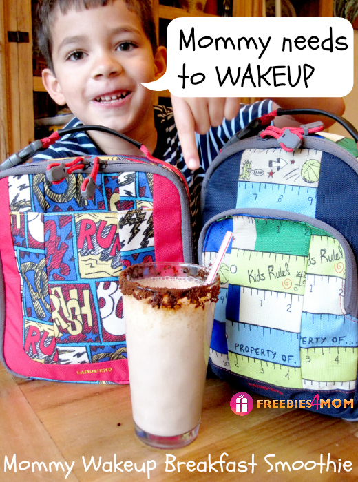 Mommy Wakeup Breakfast Smoothie #BTSIdeas #shop