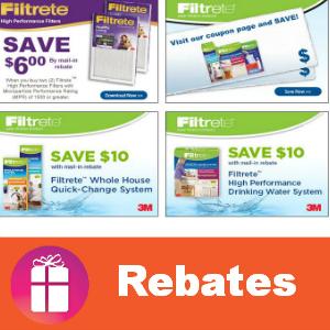 Rebate Save with Filtrete