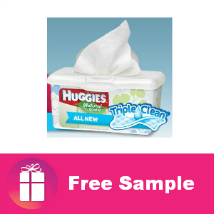 Freebie Huggies Triple Clean Layers