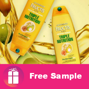 Free Sample Garnier Triple Nutrition
