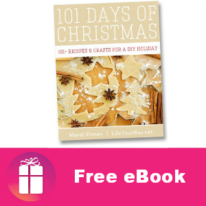 Free eBook: 101 Days of Christmas ($3.99 Value)