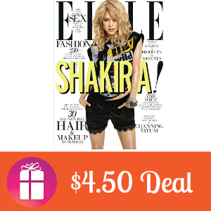 Deal $4.50 for Elle