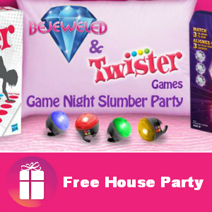 Free House Party: Bejeweled & Twister Games