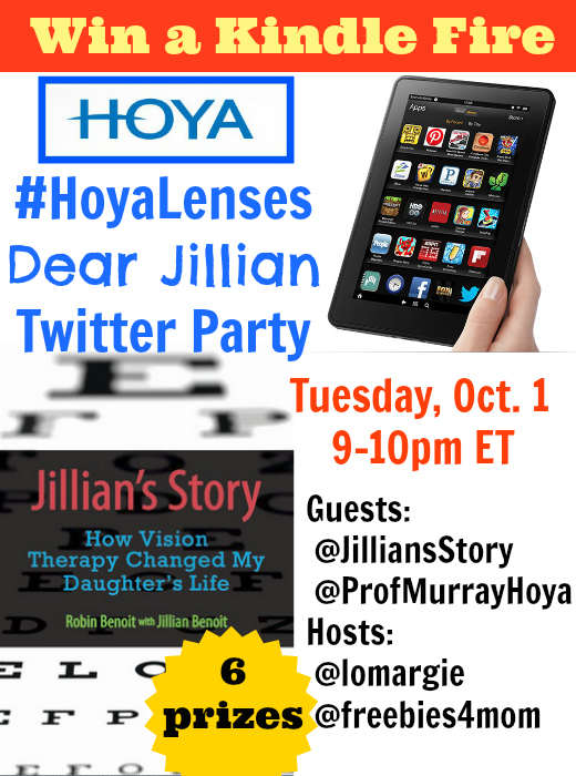 #HoyaLenses 'Dear Jillian' Twitter Party