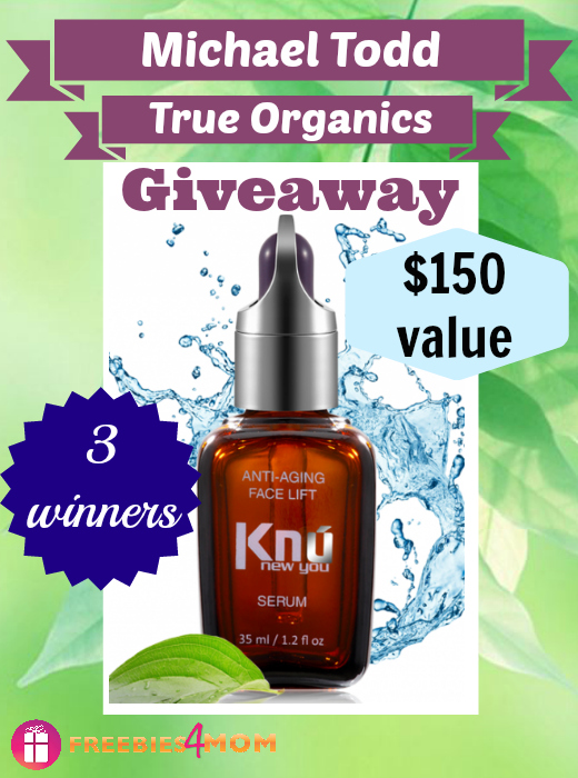 Michael Todd True Organics Giveaway