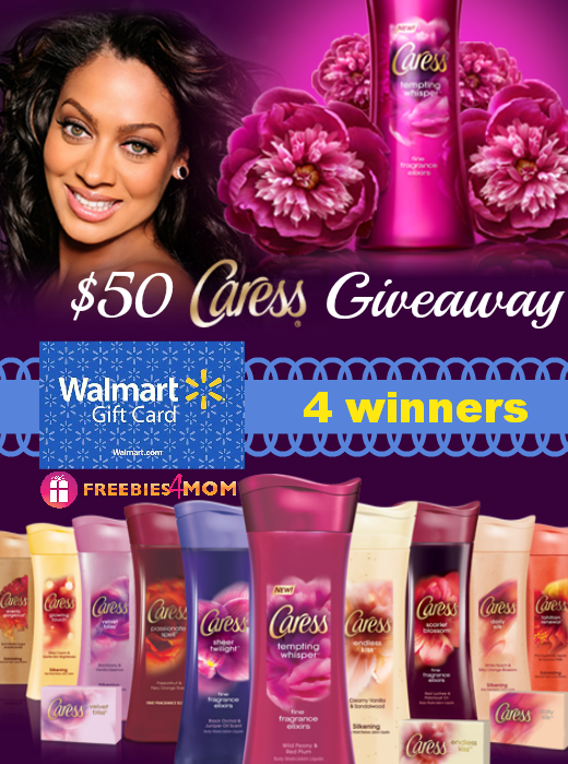 $50 Caress Body Wash Giveaway