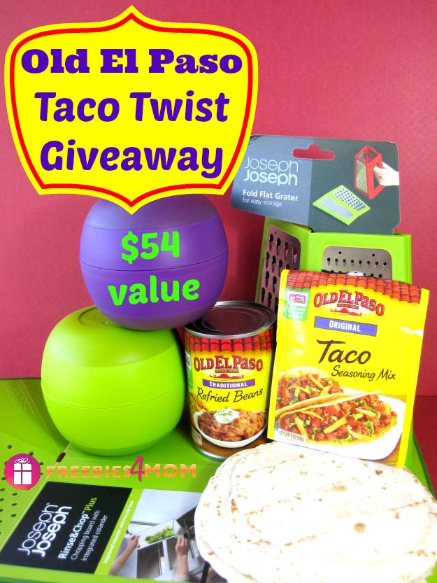 Old El Paso Taco Twist Giveaway