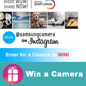 Win a Samsung NX300 Camera