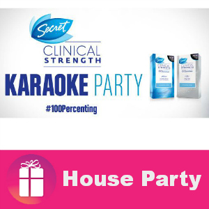 Free House Party: Secret Clinical Strength