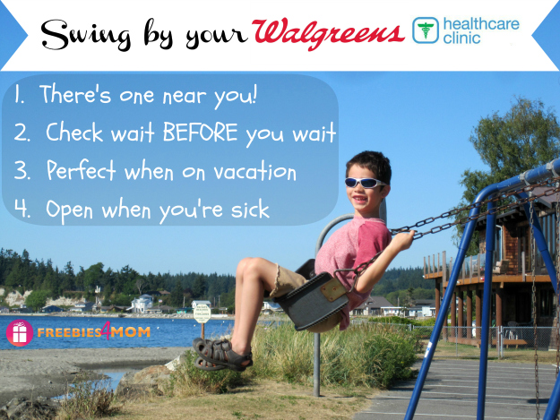 Swing by your Walgreens Healthcare Clinic #HealthcareClinic #shop
