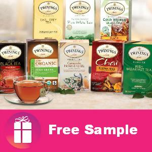 3 Free Samples of Twinings Tea