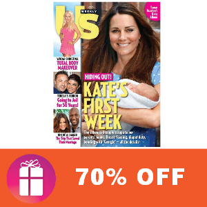 Deal 70% off Us Weekly