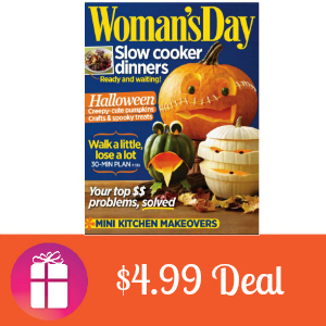 Deal Woman's Day for $4.99