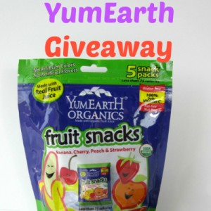 YumEarth Fruit Snacks Giveaway