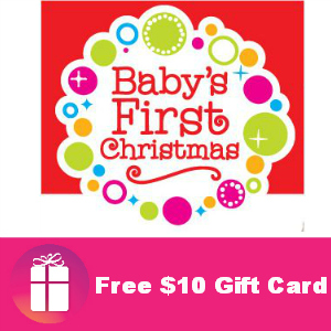 $10 Babies R Us Gift Card for 2013 Babies
