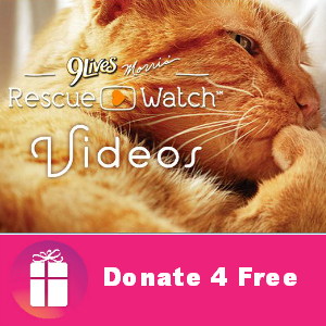Donate4Free 9Lives Morris' Rescue Watch