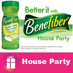 Free House Party Better it with Benefiber