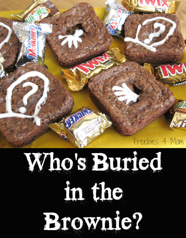 Who's Buried in the Brownie? Halloween Recipe #SpookyCelebration #cbias #shop