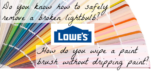 10 DIY Tips from Lowe's