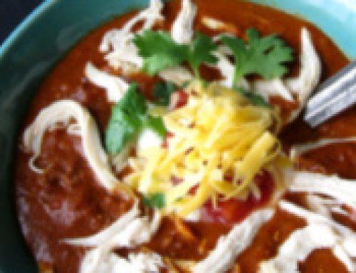 🍑Peachy Chicken Chili Recipe