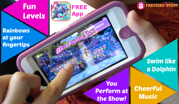 My Dolphin Show: Free App your kids will flip over #MyDolphinShow #ad