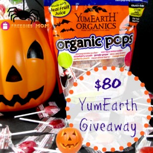 $80 YumEarth Candy Giveaway