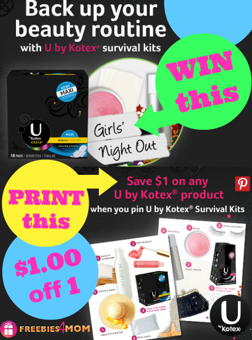 U by Kotex Survival Kit Giveaway