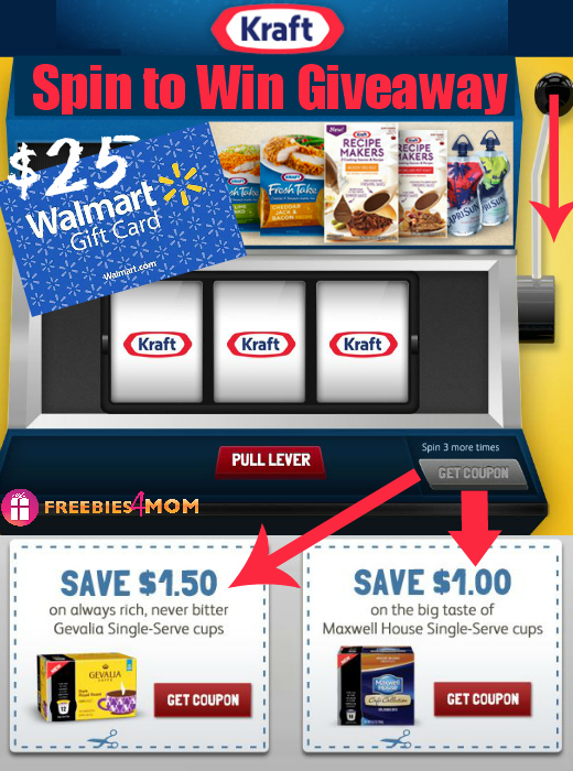 Kraft Spin to Win Giveaway