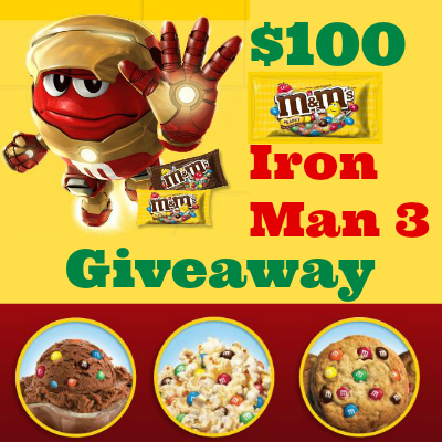 M&M's Iron Man 3 Giveaway