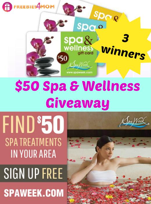 $50 Spa & Wellness Gift Card Giveaway