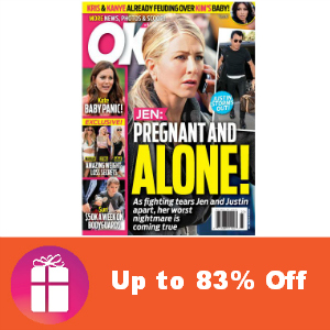 Deal Up to 83% Off OK! Magazine