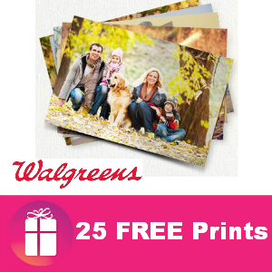 25 Free Prints at Walgreens