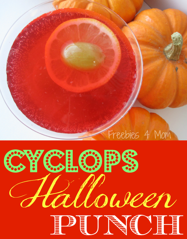 Cyclops Halloween Punch Recipe #SpookyCelebration #cbias #shop