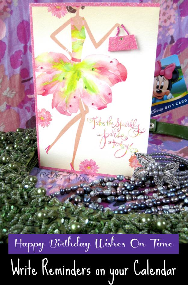 Send Happy Birthday Wishes On Time with Hallmark - Write Reminders on Your Calendar #BirthdaySmiles #cbias #shop